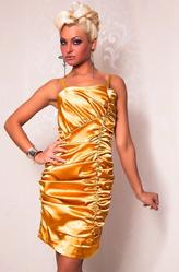 Клубные платья - Платье Золотце