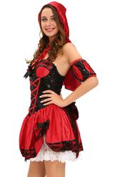Красная шапочка - Костюм Попечительная Красная шапочка
