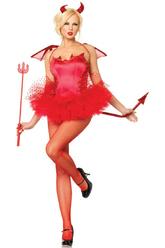 Подъюбники и юбки - Пышная красная юбка