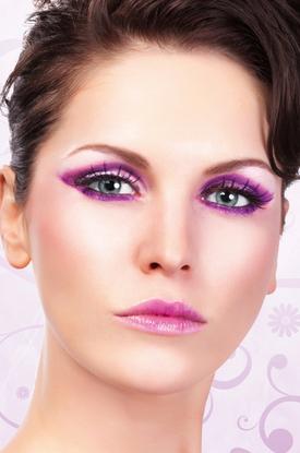 Ресницы Фиолетовая Колдунья