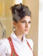 Женские костюмы - Шляпка Леопард