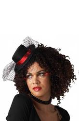 Маленькие шляпки - Шляпка с сеточкой