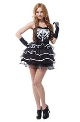 Страшные костюмы - Костюм Симпатичный скелет