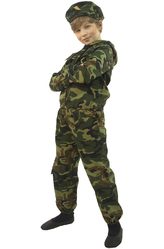 Солдат - Костюм Смелый служивый