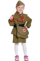 День пограничника - Костюм Советская медсестра