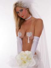 Стикини и стринги - Свадебные сердечки