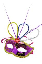 Карнавальные маски - Цветочная маска
