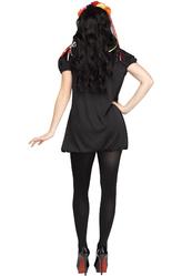 Страшные костюмы - Костюм Цветочный скелет
