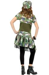 День пограничника - Костюм Военная модница