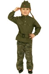 Солдат - Костюм Юная военная