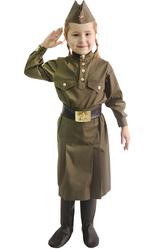 Солдат - Костюм Юная защитница отечества