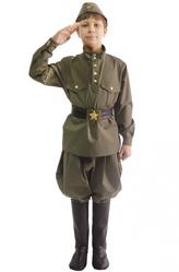 Солдат - Костюм Юный защитник родины
