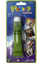 Грим для лица - Грим зеленого цвета