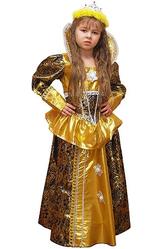 Царевны - Костюм Золотая королевна